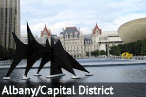 Capital District of NY: Albany, Schenectady, Troy, Saratoga area