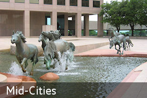 Midcities - between Dallas and Fort Worth